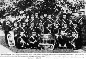 Weston Town Band 1900